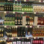 Ceny w szwedzkim sklepie monopolowym