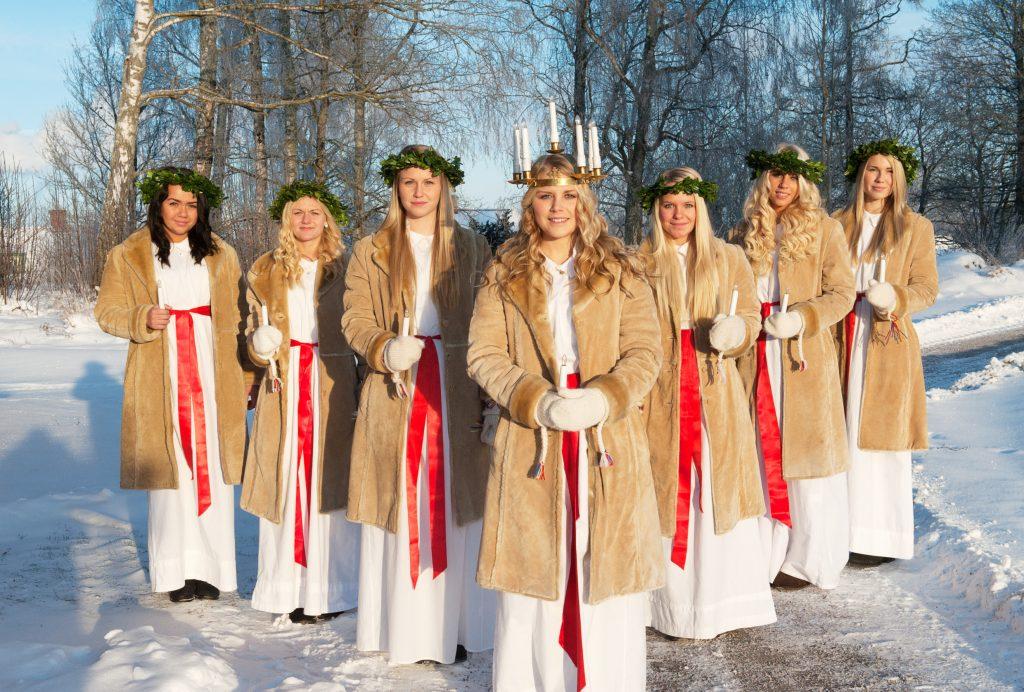 13 grudnia obchodzony jest Dzień św Łucji