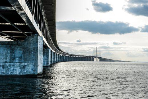 Öresundbron łączy Malmö z Kopenhagą