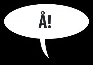 Rozmówki szwedzkie i alfabet