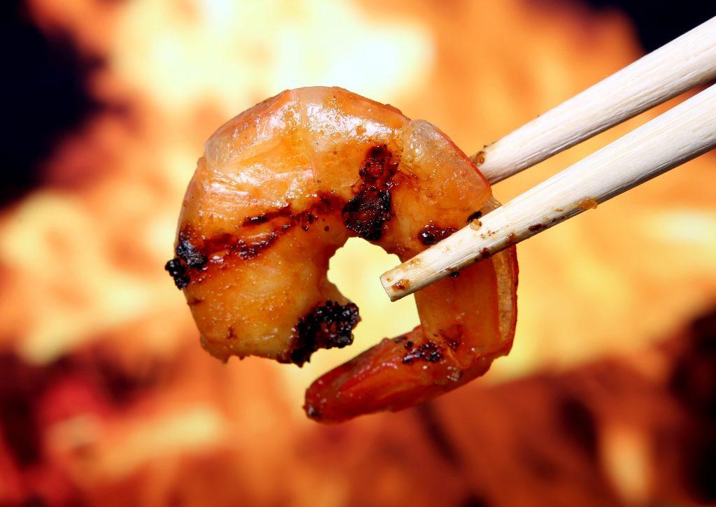 Szwecja: krewetki na grilla
